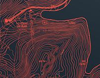 Topographic Snowboard Series