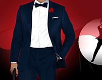 How to Dress Like James Bond