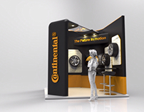 Stand Continental Tires