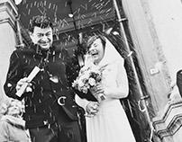 Elena e Giuseppe Wedding / preview 1 / B&W