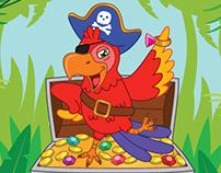 """Sticker puzzle book """"Pirates"""""""