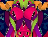 Diseño de Cartel Feria San Marcos 2016