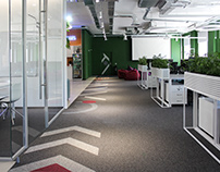 Office for Genesis IT company / Kiev