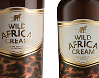 Wild Africa Cream Packaging