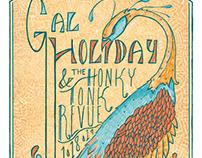 Gal Holiday Gig Poster 2019