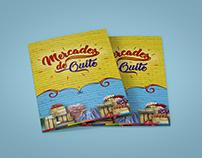 """Folleto """"Mercados de Quito"""""""