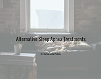 Alternative Sleep Apnea Treatments