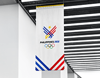 Philippines 2032 Olympics Logo