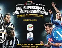 QFA- Supercoppa Match - Hamad Airport Screens