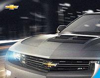 Retouching - Chevrolet® Camaro