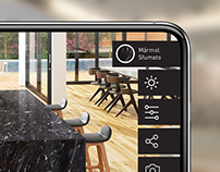 UI/UX. Augmented reality APP for LEVANTINA
