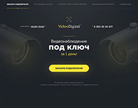 Video Digital - Landing page