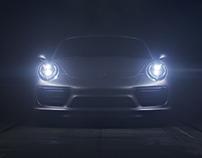 Porsche 911 Turbo S Teaser