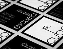 El cubo Logo and Business Card Design