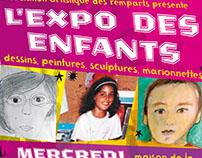 L'expo des enfants – Poster for an exhibition
