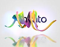 Ribbon logo by aravindavfx