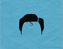 Famous Characters │ Minimalist Poster Designs