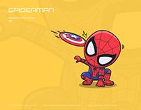 illustration Spiderman