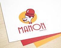 Identidade Visual - Redesign Confeitaria Manon