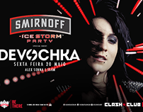 Smirnoff Ice Storm Party @ Clash Club