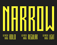 Film Poster NARROW & WIDE Font