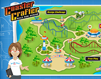 Coaster Crafter Website Interactive
