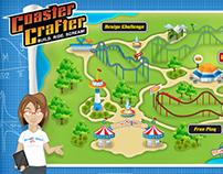 Coaster Crafter Website Interactive