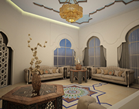 Morroco Living and Dining design