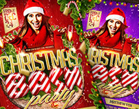 Christmas Bash Party Flyer (DOWNLOAD .PSD NOW!)