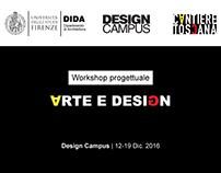 Workshop Arte e Design   2016