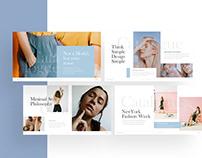 Catalogue – Fashion Minimalist Presentation Template