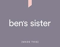 Ben's Sister