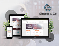 Glasses & Co - Branding & Website
