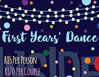 First Years Dance Poster
