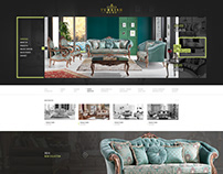Turkish Home Furniture Web Design