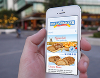 Industrial Bakery - Responsive Web Relaunch