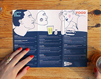 Soia Beach Bar Illustrations for Graphic Identity