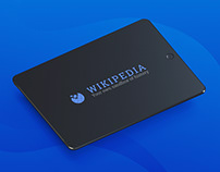 Wikipedia website redesign