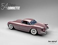 '54 chevy CORVETTE