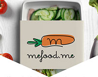 Logo design for Mefood.me