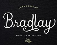 Bradlay - Script Elegant Font