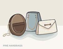 Pine: Thesis Handbags