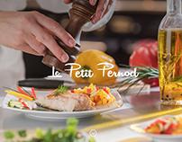 Web design - restaurant le P. Pernod