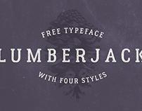 The FREE Lumberjack Typeface