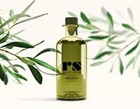 Rafael Salgado olive oil packaging design