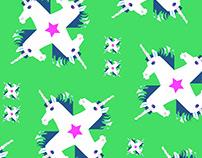 Textile Unicorn Design 2017