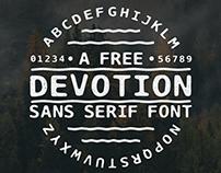 Devotion - Free Font