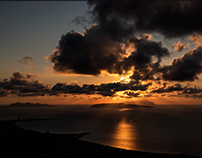 A Sicilian holiday - Sunset on the Egadi islands...