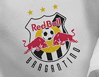 Proposta de Escudo e Uniforme - Red Bull Bragantino