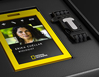 3D Badge Extreme ID National Geographic